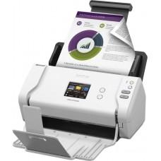 Сканер Brother ADS-2700W, A4, 35 стр/мин, 512Мб, цветной, дуплекс, DADF50, сенс.экран, LAN, WiFi, USB (ADS2700WUN1)
