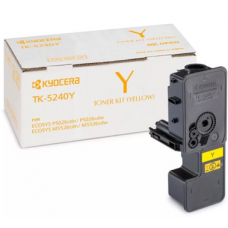 KYOCERA Тонер-картридж TK-5240Y 3 000 стр. Yellow для P5026cdn/cdw, M5526cdn/cdw