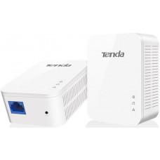 Tenda PH6 набор 2хPowerLine адаптеров AV1000 с проходной Евро розеткой